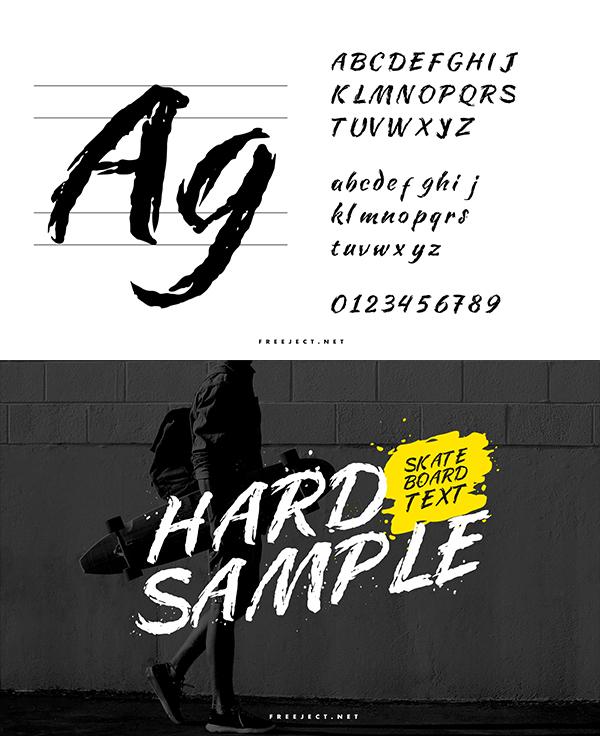 MACAN KUMBANG Font Letters