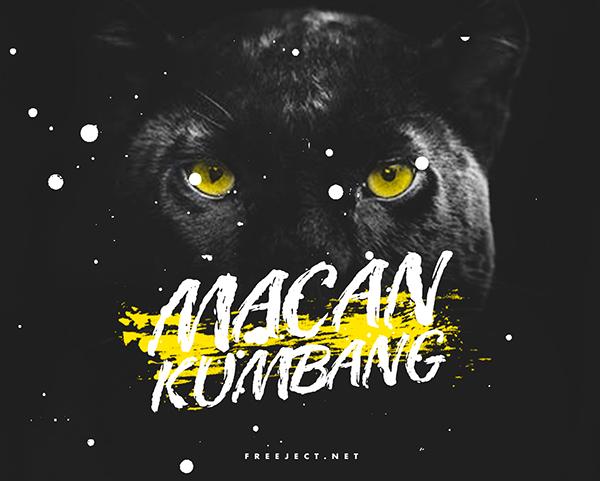 MACAN KUMBANG Free Font