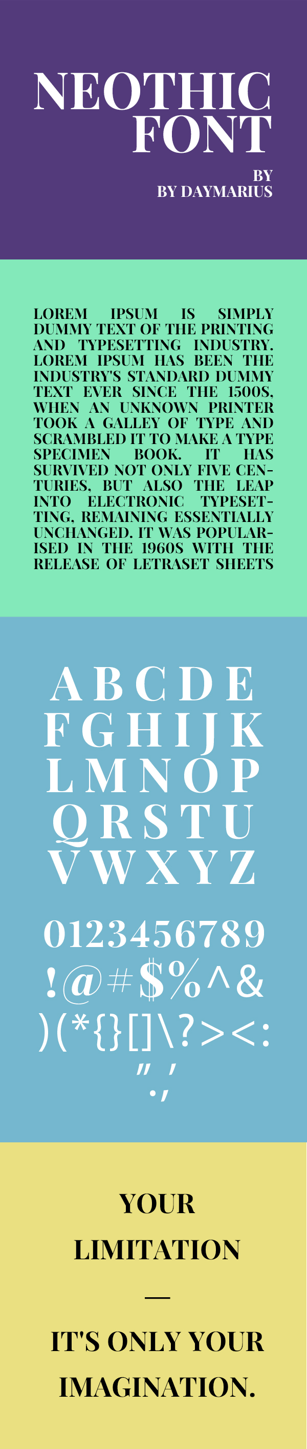 Neothic Free Font