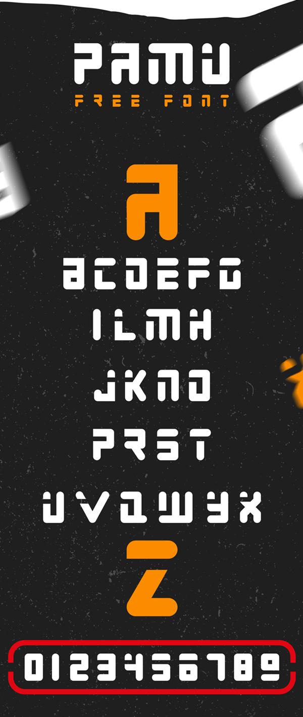 Pamu Free Font
