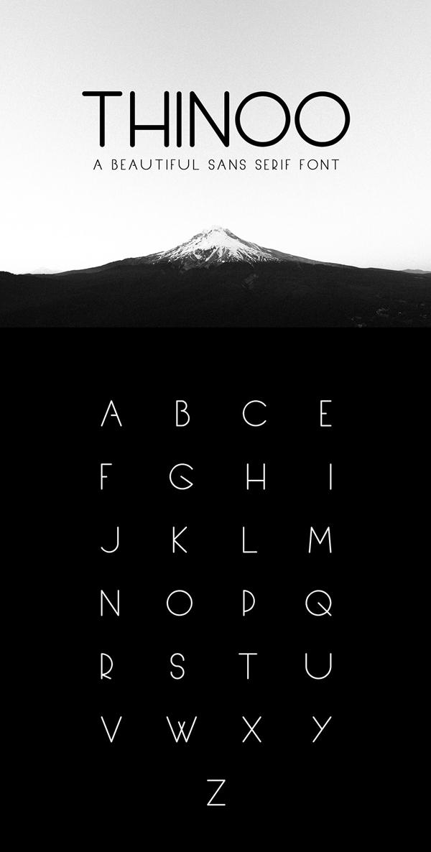 Thinoo Modern Sans Serif Free Font