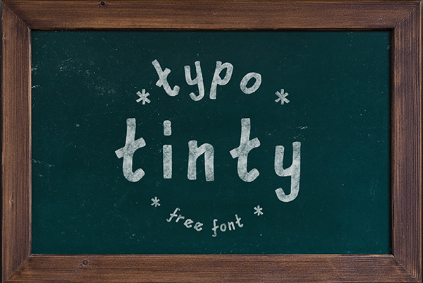 Tinty Free Font