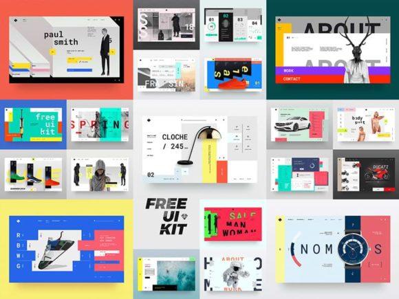 HeaderZ: A set of 20 free design heros