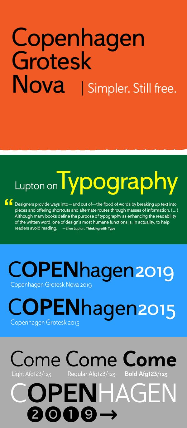 Copenhagen Grotesk Nova Free Font