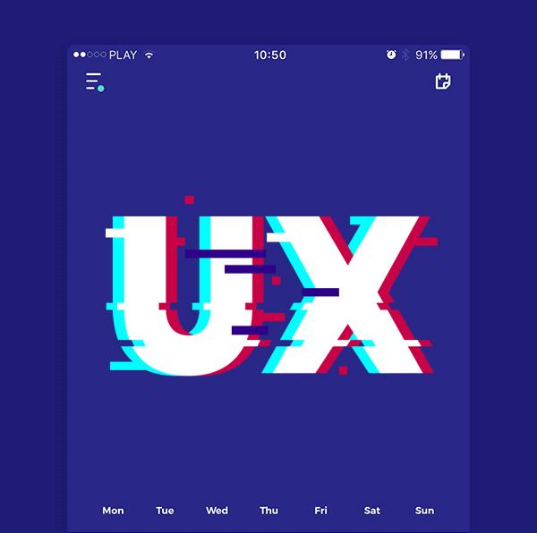 Glitches in the UX design