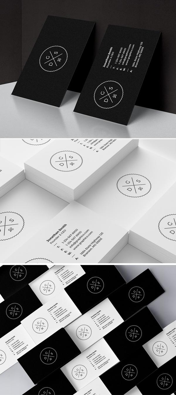Simple Corporate Minimal Business Card