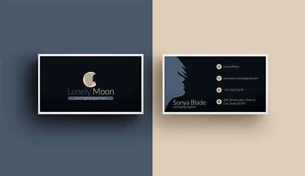 Business Card - Beauty Salon