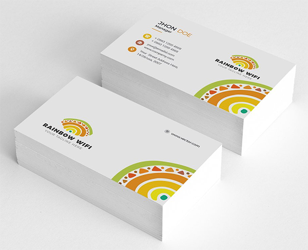 Clean Business Card Design