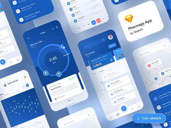 Pharmagy: Medical app design