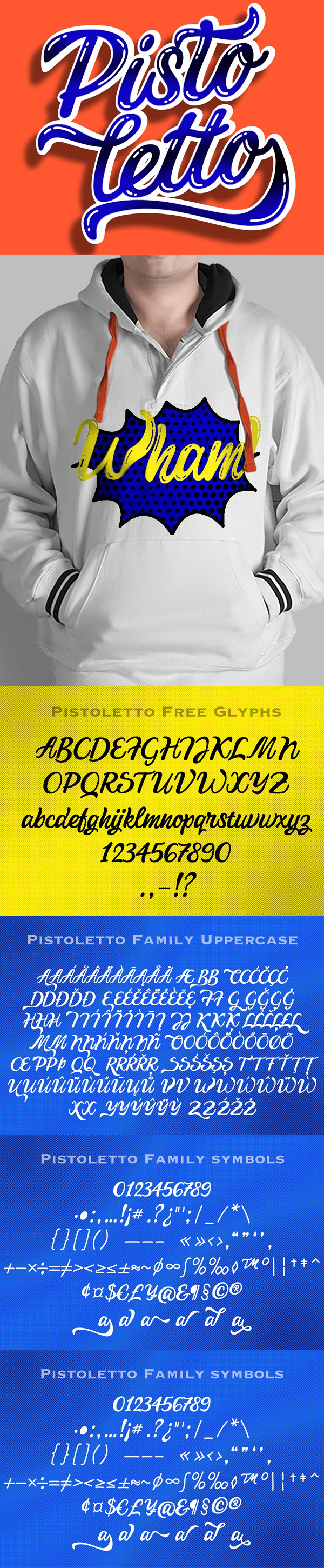 Pistoletto Regular Free Font