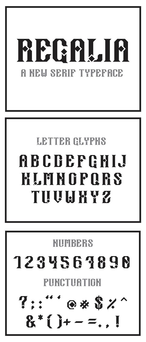 Regalia Free Font