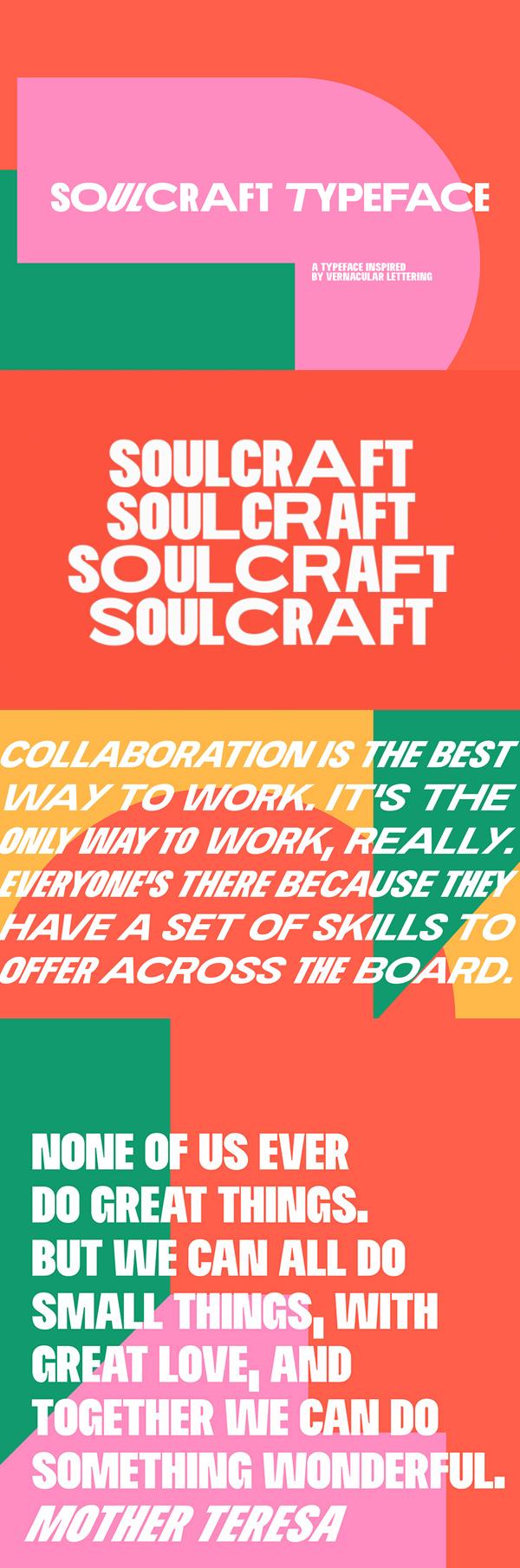 Soulcraft Free Font
