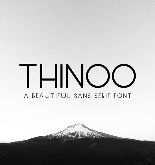 Thinoo Free Font