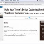 New Course on the WordPress Customizer for Theme Designers