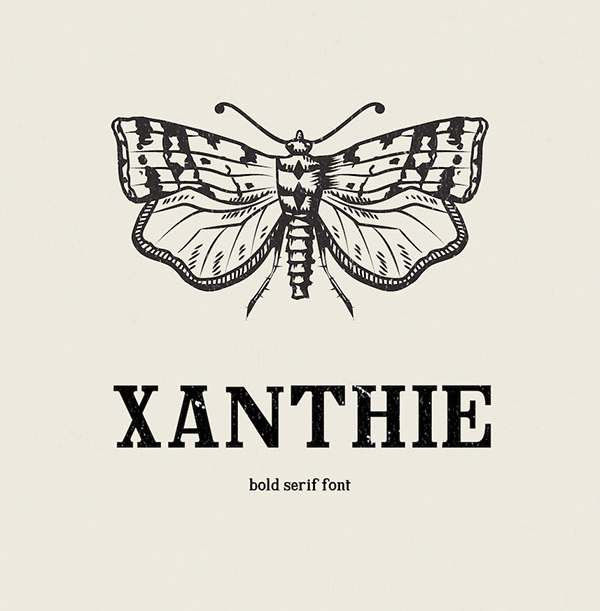 Xanthie Free Font