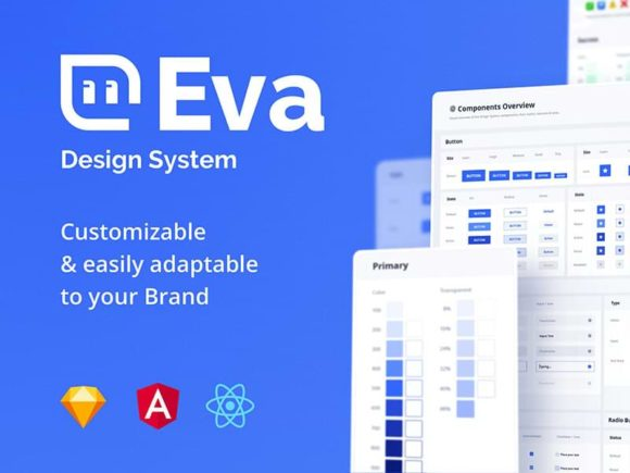 Eva: A free Design System for Sketch