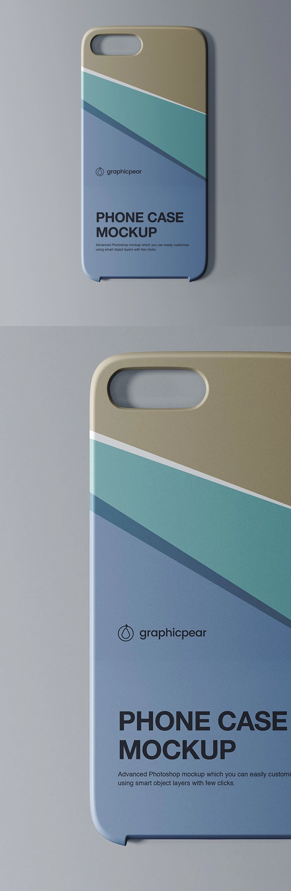 Free Phone Case Mockup