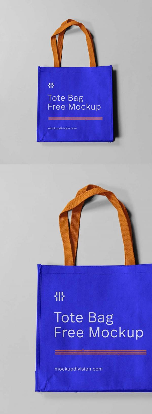 Free Mini Tote Bag Mockup (PSD)