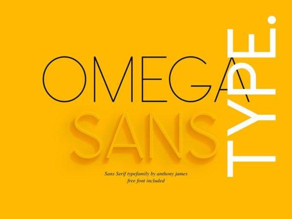 Omega Sans: A classic sans-serif font