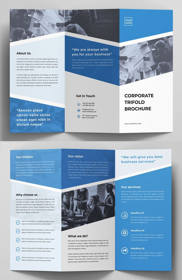 Creative Simple Trifold Brochure