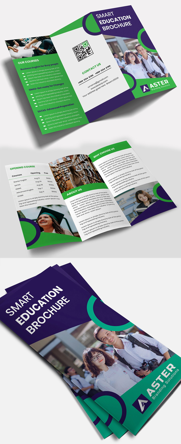 Education Tri-Fold Brochure