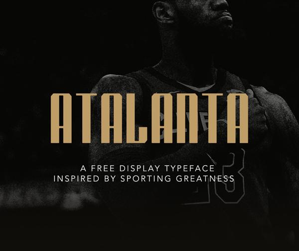 Atalanta Free Font Design