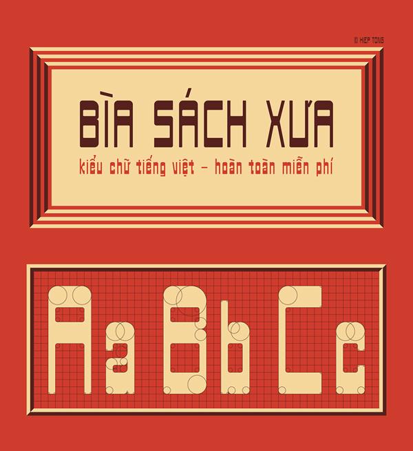 Biasachxua Free Font Design