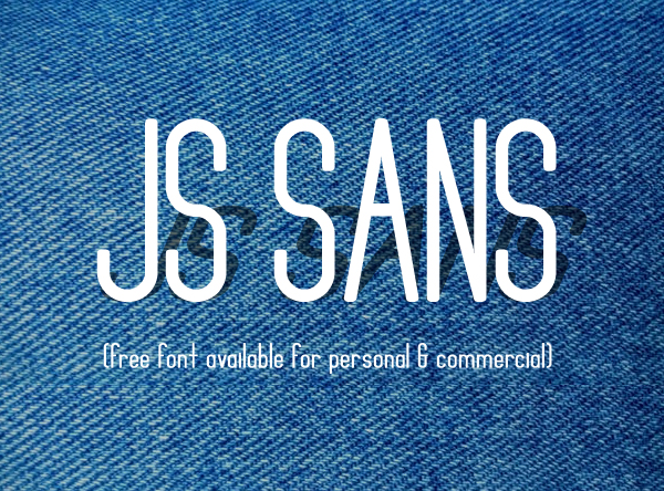 JS Sans Free Font Design