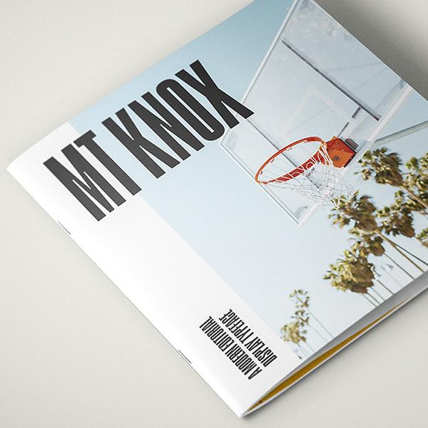 MT Knox Free Font Design