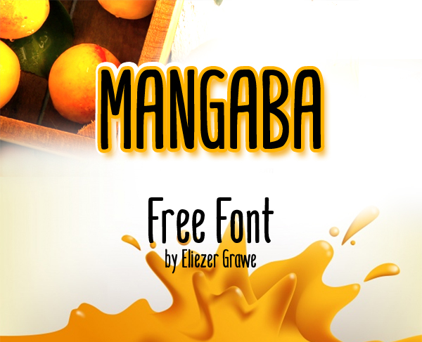 Mangaba Free Font Design