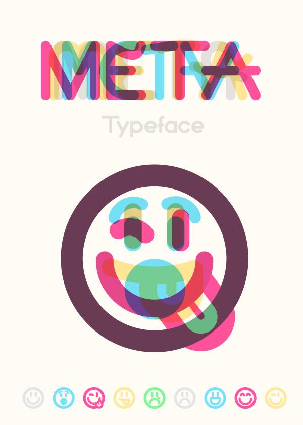 Meta Free Font Design