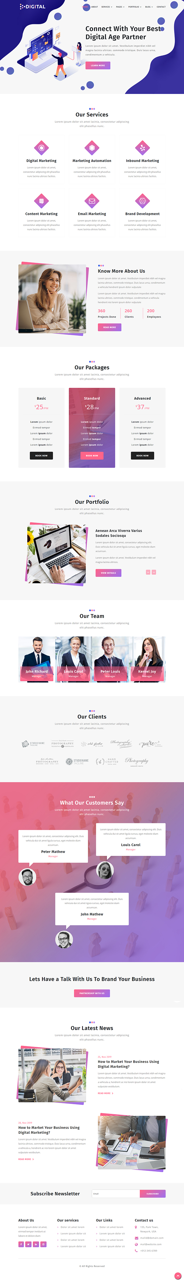 Digital Agency – Divi Child Theme