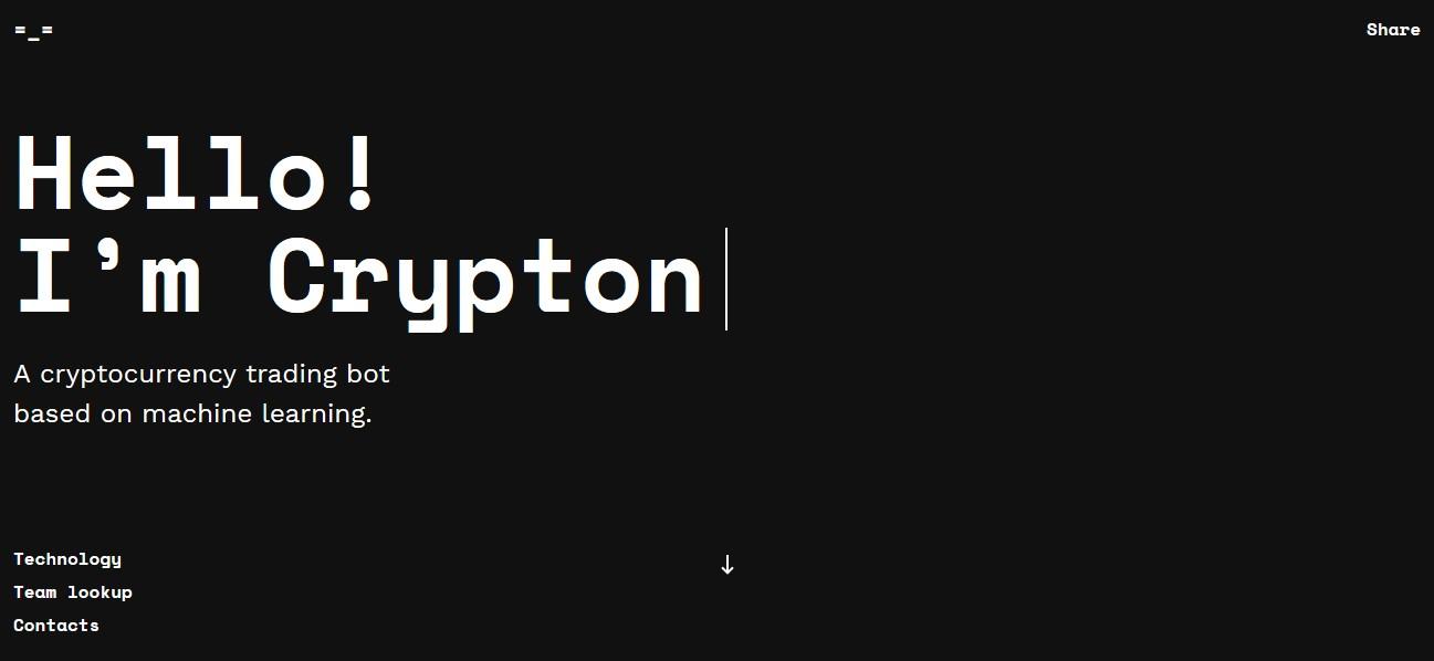 crypton trading