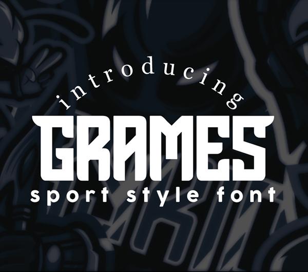 Grames Free Font