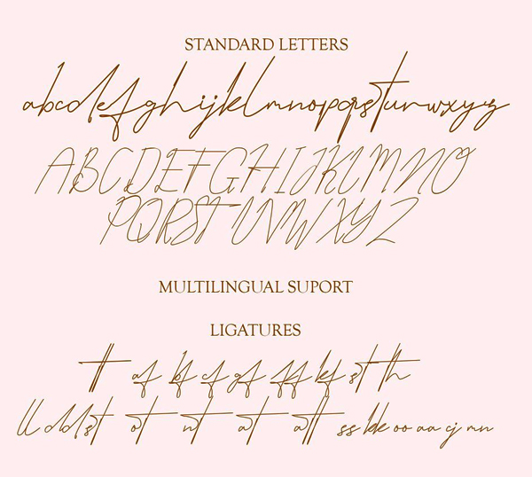Hamidal Handwritten Free Font Letters