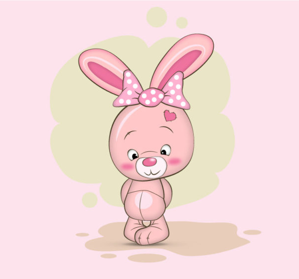 How to Draw a Cute Bunny Character in Adobe Illustrator Vector Tutorial