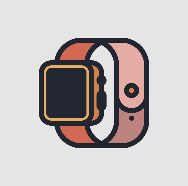 How to Create a Smartwatch Icon in Adobe Illustrator Tutorial