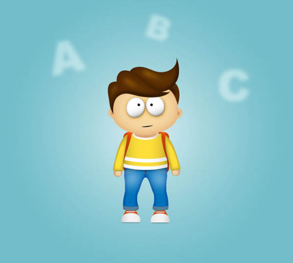 How to Draw Cartoon Character in Adobe Illustraot Tutorial