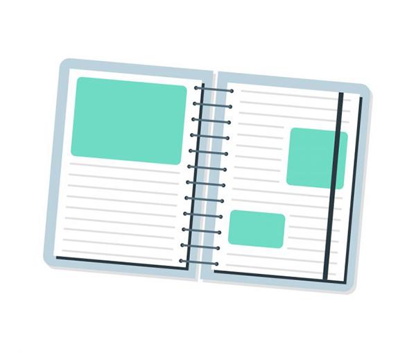 Create a Cute Notebook Icon in Adobe Illustrator
