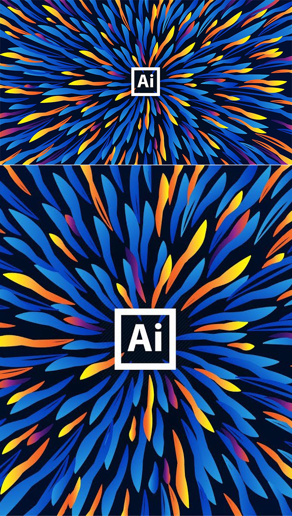 How to Make a Colorful Background in Adobe Illustrator Tutorial