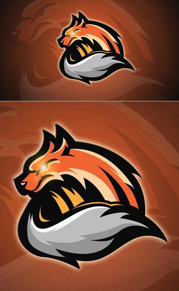How to Create Vector Fox Logo in Adobe Illustrator Tutorial