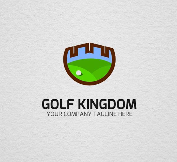 Golf Logo Template Design