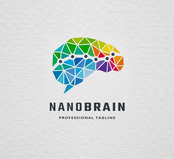 Nano Brain Logo Design