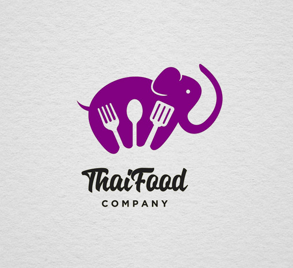Thai Food logo Design