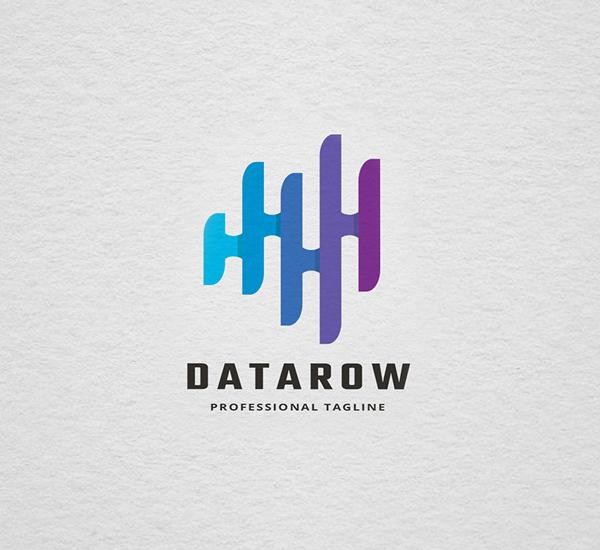Data Row Logo Design
