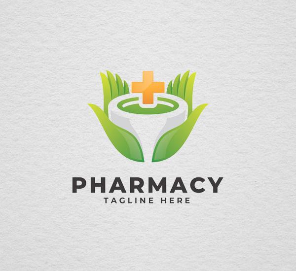 Pharmacy - Logo Template Design