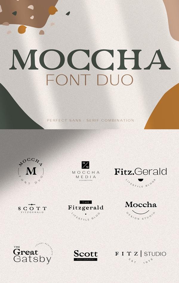 Moccha Free Font Duo