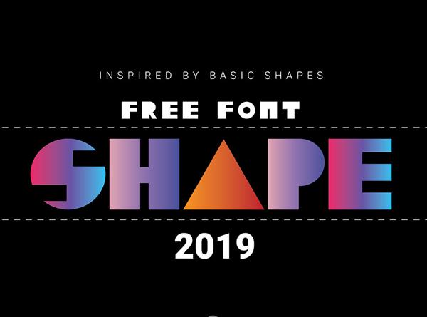 Shape Free Font