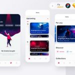 Ticketapp: Free event booking app concept