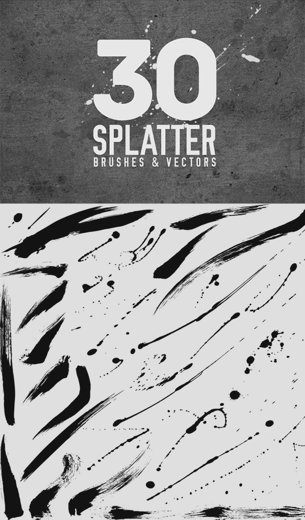 Splatter Brushes